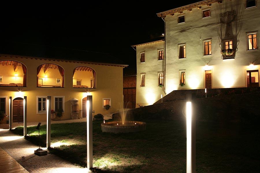 Canonica di Corteranzo | Agriturismo Monferrato | La storia